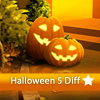 Juego online Halloween 5 Differences
