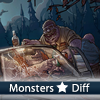 Juego online Monsters 5 Differences