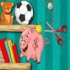 Juego online Piggy Bank Adventure