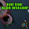 Juego online Run Run Alien Invasion