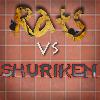 Juego online Rat vs Shuriken