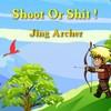 Juego online Shoot or Shit - TAOFEWA Chibi Archery