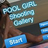Juego online Pool Girl Shooting Gallery