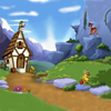Juego online Sunny meadow 5 Differences