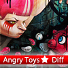 Juego online Angry Toys 5 Differences
