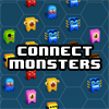 Juego online Connect Monsters