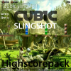 Juego online Cubic Slingshot - 20 Level - Highscore Game
