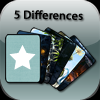 Juego online 5 Differences (Fantasy pack)