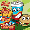 Juego online Fast Food Word Search