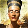 Juego online Wooden Jigsaw Puzzle - Egypt