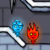 Juego online FireBoy & WaterGirl 3: The Ice Temple