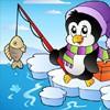 Juego online Fishing Penguin Jigsaw