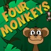 Juego online Four Monkeys