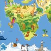 Juego online Funny World Map