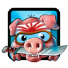 Juego online Kamikaze Pigs