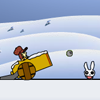 Juego online Kill The Wabbits - Winter Edition