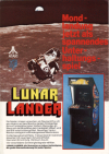 Juego online Lunar Lander (MAME)