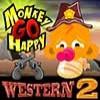 Juego online Monkey Go Happy Western 2