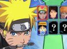 Juego online Naruto y las Estrellas del Manga