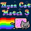 Juego online Nyan Cat Match 3