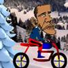 Juego online Obama Bike Ride