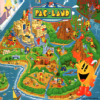 Juego online Pac-Land (Mame)
