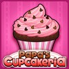 Juego online Papa's Cupcakeria