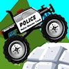 Juego online Police Monster Truck