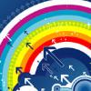 Juego online Rainbow Clix