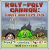Juego online Roly-Poly Cannon: Bloody Monsters Pack
