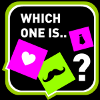 Juego online Which one is