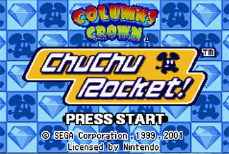 Imagen de la descarga de 2 Games in 1: Columns Crown – ChuChu Rocket!