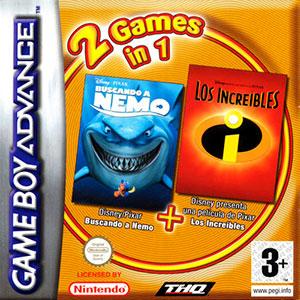 Portada de la descarga de 2 Games in 1: Buscando a Nemo – Los Increibles