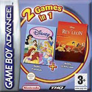Portada de la descarga de 2 Games in 1: Disney Princesas – El Rey Leon