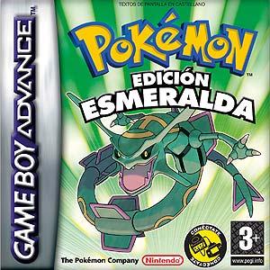 Portada de la descarga de Pokemon Edicion Esmeralda