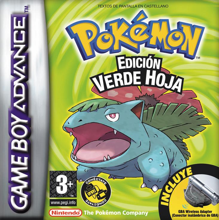 Pokemon edicion verde hoja gba onlinemania for Edicion 3d online