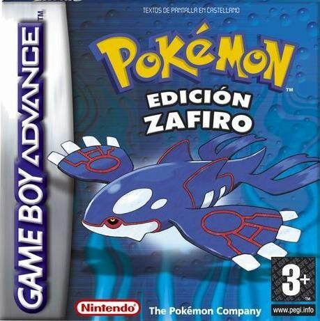 Portada de la descarga de Pokemon Edicion Zafiro