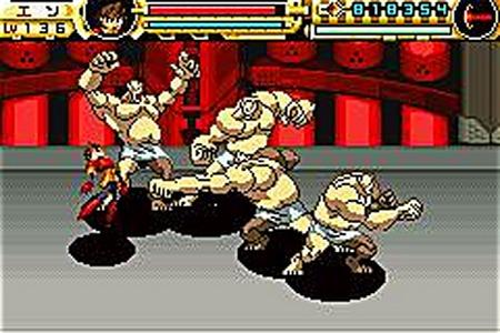 Pantallazo del juego online Advance Guardian Heroes (GBA)