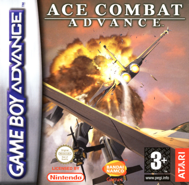 Portada de la descarga de Ace Combat Advance