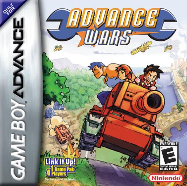 Carátula del juego Advance Wars (GBA)
