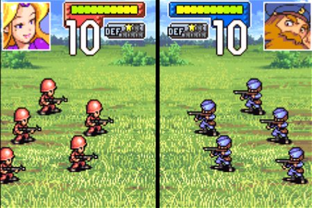 Pantallazo del juego online Advance Wars (GBA)