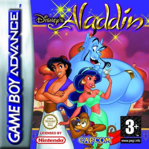 Portada de la descarga de Disney's Aladdin