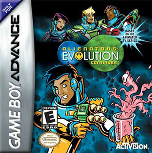Juego online Alienators: Evolution Continues (GBA)