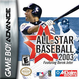 Portada de la descarga de All-Star Baseball 2003