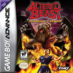 Carátula del juego Altered Beast Guardian of the Realms (GBA)
