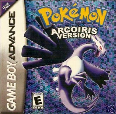Carátula del juego Pokemon Arcoiris (GBA)