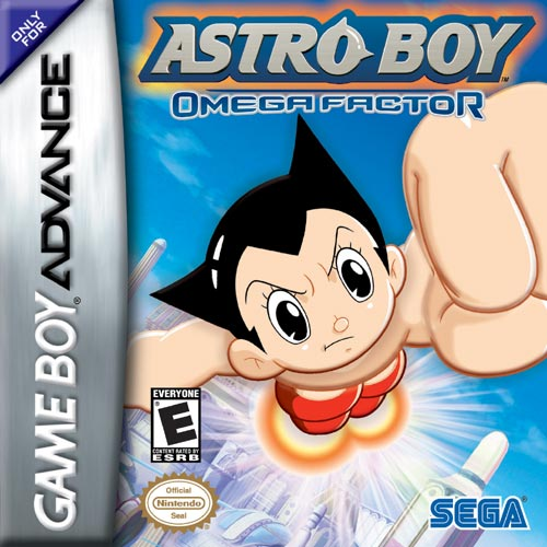 Portada de la descarga de Astro Boy: Omega Factor