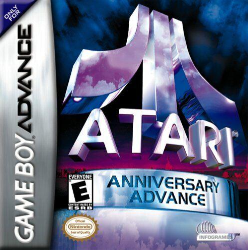Portada de la descarga de Atari Anniversary Advance