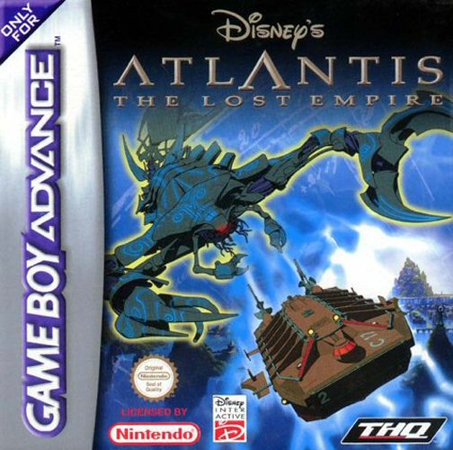 Portada de la descarga de Disney's Atlantis: The Lost Empire