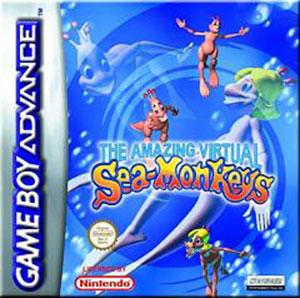 Juego online The Amazing Virtual Sea Monkeys (GBA)